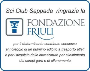 Fondazione Friuli_ringraziamento